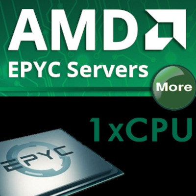 AMD 1x CPU Rackmount Servers