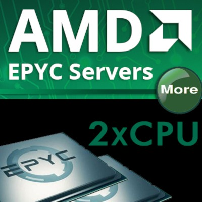 AMD 2x CPU Rackmount Servers